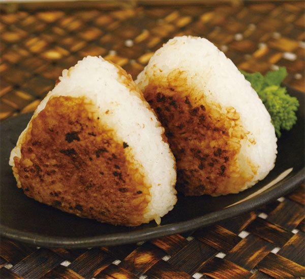 Yaki Onigiri Rice Balls with Miso