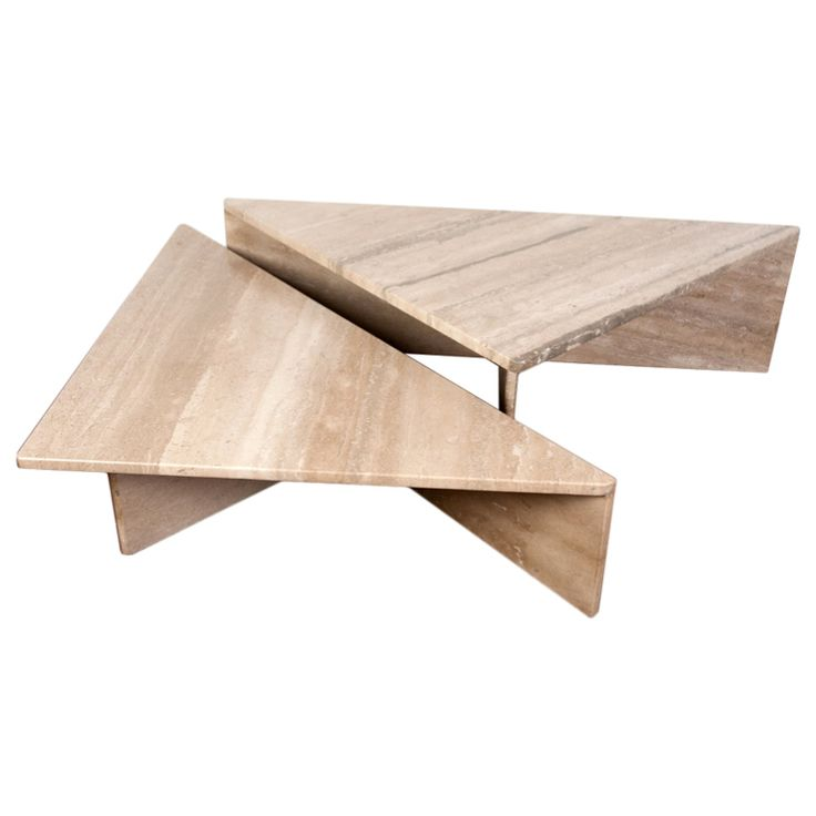 Two piece Italian travertine coffee table | From a unique collection of antique and modern coffee and cocktail tables at https://www.1stdibs.com/furniture/tables/coffee-tables-cocktail-tables/