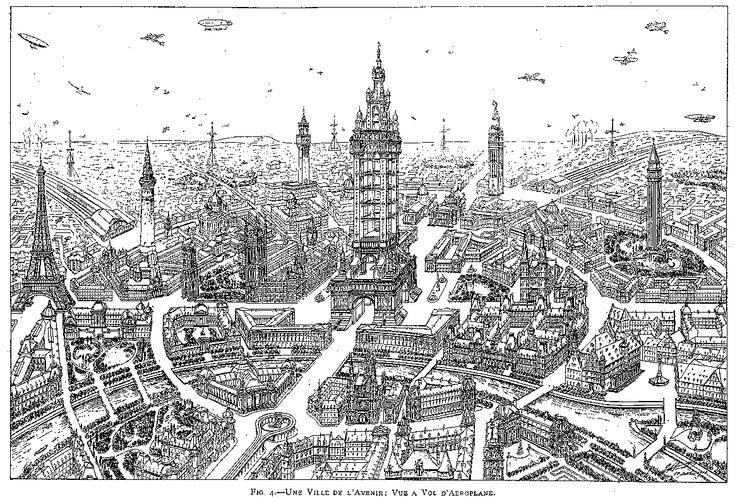 "Eugène Hénard, ""Cities of the Future"" Royal Institute of British Architects, in Town Planning Conference London, 10-15 October 1910, Transactions (London: The Royal Institute of British Architects, 1911):345-367. (via John W. Reps, Urban Planning, 1794-1918: An International Anthology of Articles, Conference Papers, and Reports)."