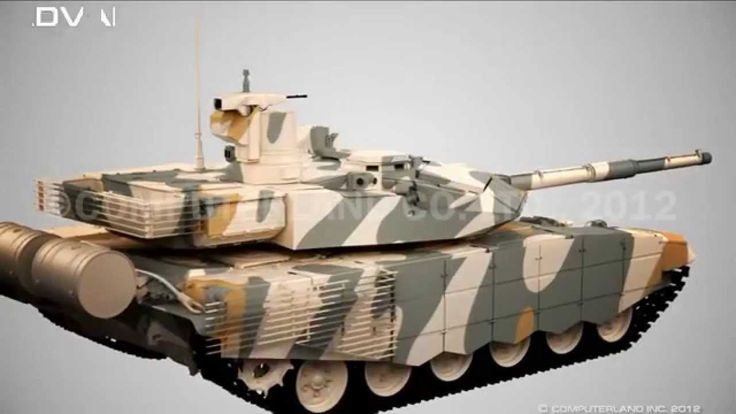 T-90S Modernized Main battle tank (T-90MS Tagil)