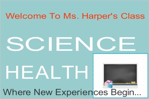 Science Health - School banner