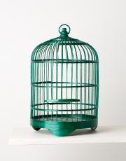 BAMBOO BIRD CAGE fuglebur grønn