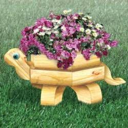 11-2344 - Landscape Timber Turtle Planter Woodworking Plan