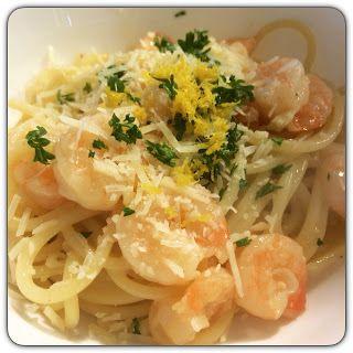 Do It Like Doli: Recipe: Shrimp Linguine w/ Lemon Garlic Butter & White Wine Sauce