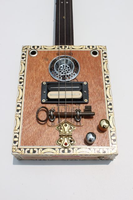 Nigel McTrustry Cigar Box Guitar.