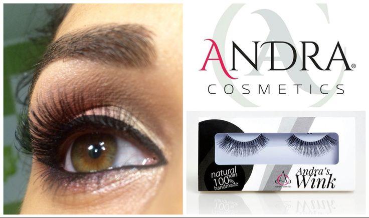 The best eyelashes #andraswink #andacosmetics