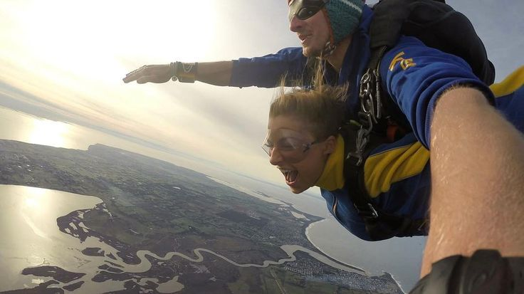 I AM FLYING!!! #birdlife #humanwings #bestfeeling #amazing #experiance #peaceful #freefalling #skydiving #thrill #happiness #ontopoftheworld #greatoceanroad #melbourne #bestday by freedom_17