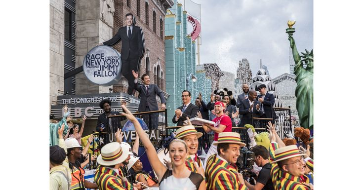"""ORLANDO, Fla., April 6, 2017 /PRNewswire/ -- This morning, guests joined """"Tonight Show"""" host Jimmy Fallon to..."""