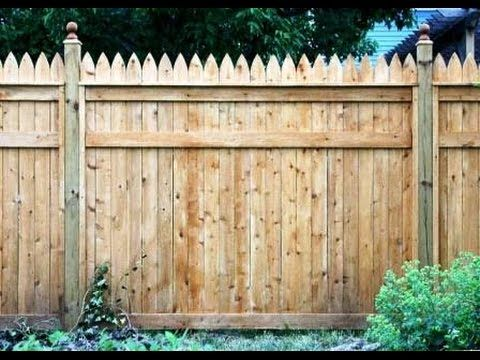 Stockade Fence # Stockade Fence On A Hill~Install Stockade Fence At Home