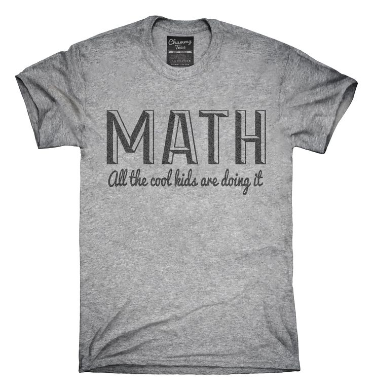 Best 25  Math shirts ideas on Pinterest | Math teacher shirts, Pi ...