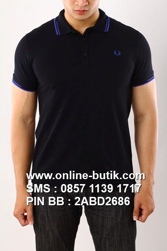 POLO SHIRT FRED PERRY PREMIUM | Kode : PSP FRED PERRY 9 | Rp. 220,000