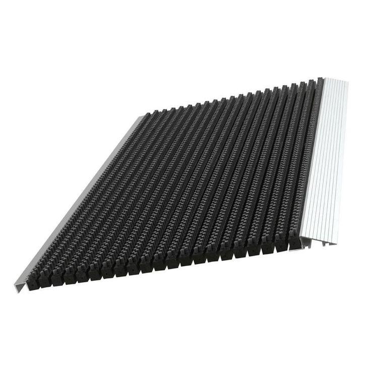 Black Ultimate Bristle Mat (Black) (Rubber)
