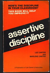 1976 The goal of assertive discipline is to allow teachers to teach uninterrupted by students' misbehavior. Part of this approach is developing a clear classroom discipline plan of rules which students must follow at all times, positive recognition that students will receive for following the rules, and consequences that result when students choose not to follow the rules. These consequences should escalate when a student breaks the rules more than once in the same lesson.