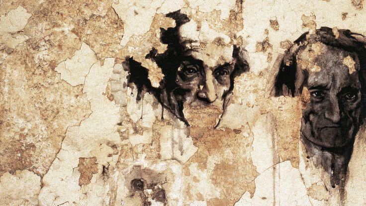 Ernest Pignon-Ernest Antonin Artaud, Hôpital Charles-Foix, Ivry-sur-Seine, France 1997