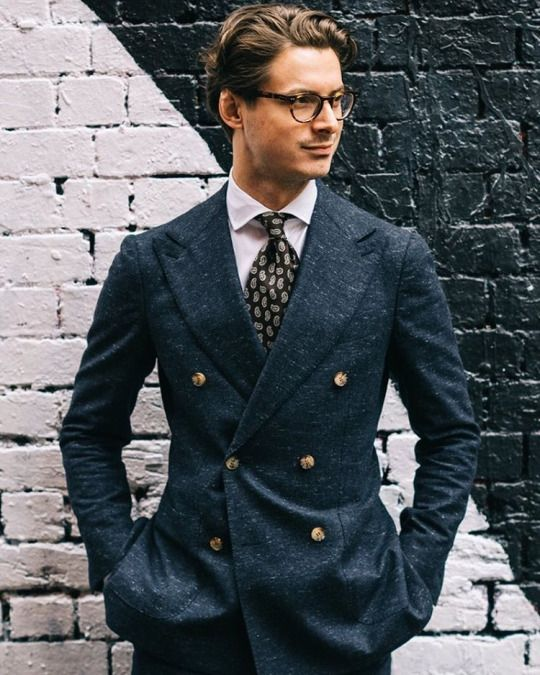 double breasted suit with glasses http://www.99wtf.net/men/mens-fasion/trend-necklace-men/
