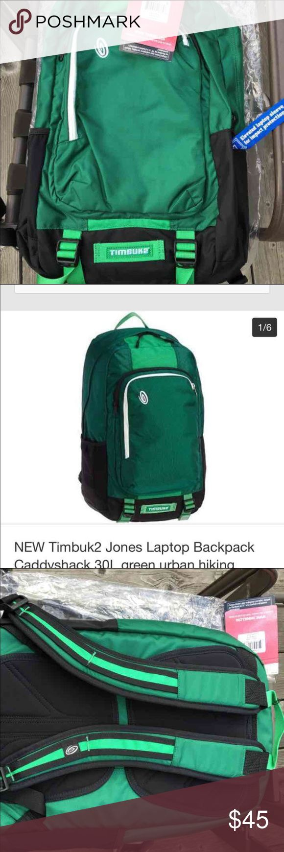 Timbuk2 backpack with laptop sleeve Green color Timbuk2 backpack with laptop sleeve Green color Perfect for college  Perfect for school Perfect for work San Francisco design      Please check out our store :) We have UGG, NIKE, The North Face, Under Armour, Trina Turk, Ralph Lauren, Gymboree for boys and girls, Puma, Abercrombie & Fitch, Lacoste, Tommy Bahama, Steve Madden, Stride Rite, Gap & more  We love to hunt for great deals to pass on to you!!! We carry dress, blouses, handbags, boys…