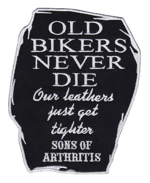 """YOU KNOW WHO YOU ARE!"""""""" That old biker that has that leather look from the miles you've put behind you! Now own the patch to verify it! This patch measures 4"""""""" x 3"""""""". Our patches are multi-purpose. Y"""