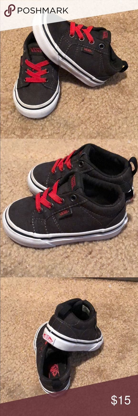 Toddler Slip On Vans Worn by my son a few times. Toddler 4.5 Vans Shoes Sneakers