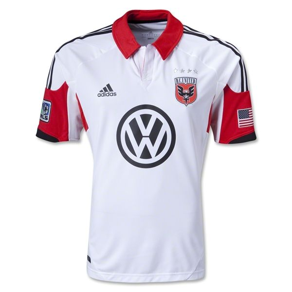 DC United 2013 Authentic Secondary Soccer Jersey $109.99