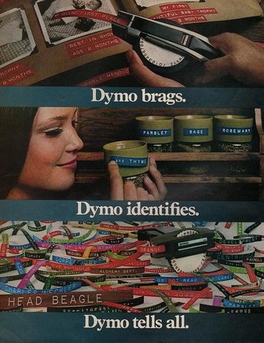 1970's DYMO ad