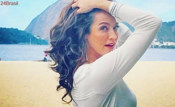 Luana Piovani fala sobre o ex-namorado Rodrigo Santoro