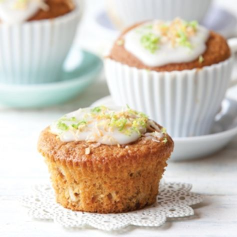 Feijoa coconut muffins