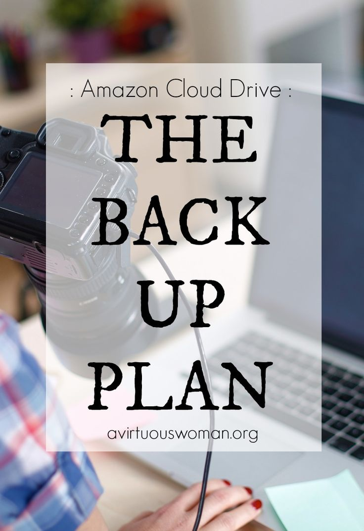 The Back Up Plan for Photo Storage @ AVirtuousWoman.org