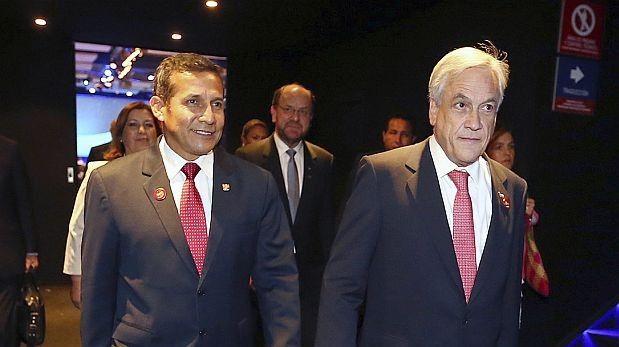 29.01.14: Humala y Piñera se comprometieron a cumplir fallo a la brevedad | El Comercio Perú