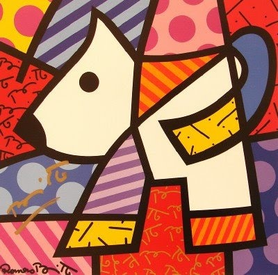 Telas de Britto - perro