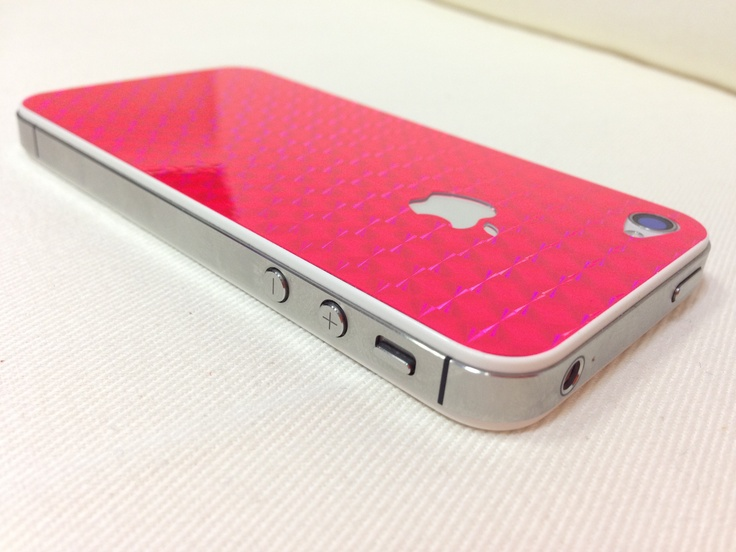 Pink Monday! Pink iPhone skin :-)