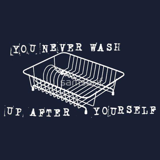 #youneverwashupafteryourself #radiohead #samserif