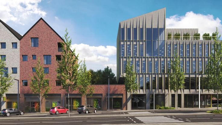 New Laindon City Centre and High Street, by C.F. Møller Architects and Pollard Thomas Edwards.