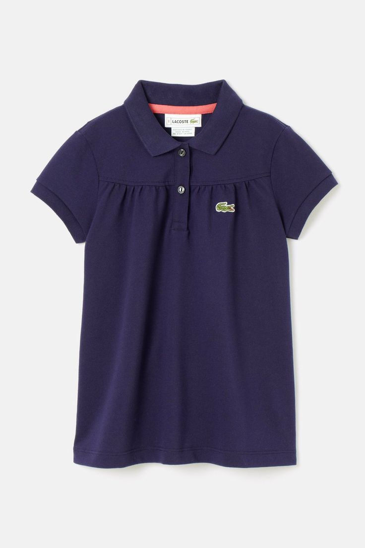 #Lacoste #polo for #kids , the cutest.