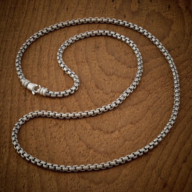 Signature Sterling Silver Cable Chain Necklace