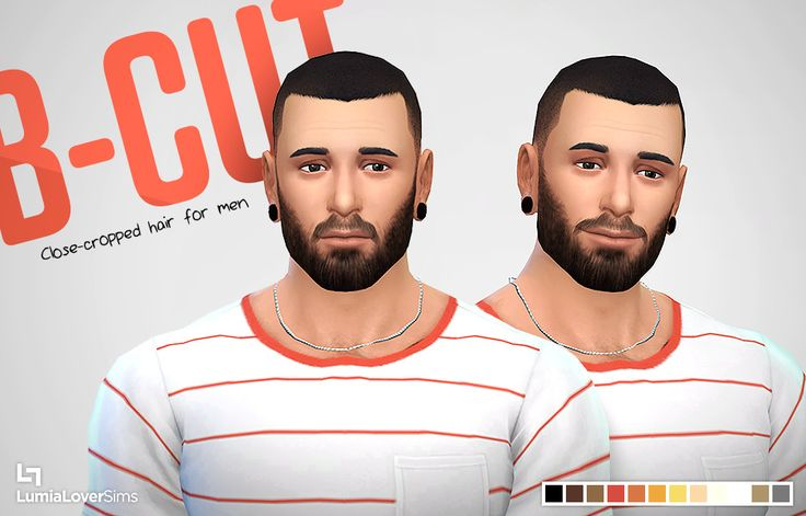 LumiaLoverSims - A new buzz-cut style hair for your male Sims....