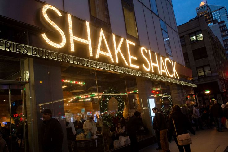 The Shake Shack restaurant in the Manhattan borough of New York. - Keith Bedford/Reuters