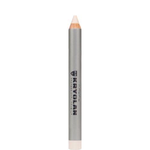Kryolan Kajal Highlight - creion cu textura moale - Alb