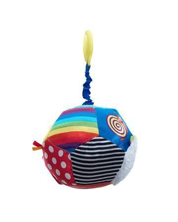"""WeeWise подвесная """"Мяч-Открытие""""для коляски и автокресла  — 685р.  Игрушка подвесная """"Мяч-Открытие""""для коляски и авто-кресла WeeWise способствует развитию зрительного, слухового и тактильного восприятия. Стимулирует хватательные навыки ребенка, помогает тренировке мелкой моторики рук."""