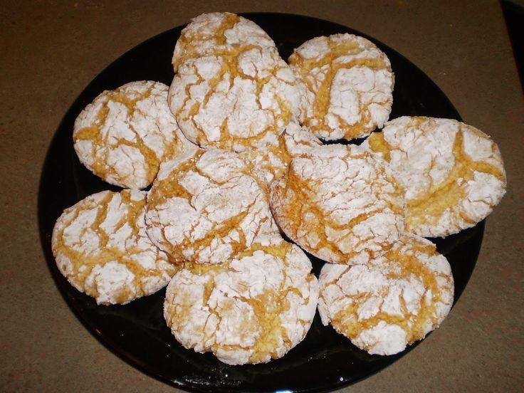 Very Easy Christmas Cookies | One Simple Country Girl: Lemon Snowflake Cookies