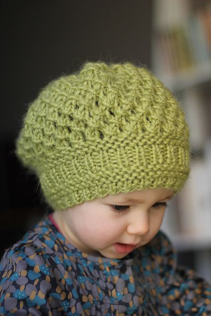So cute! Adult size patteren also available.   Ravelry: Pomme pattern by Ekaterina Blanchard