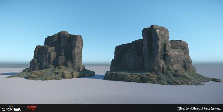ArtStation - Back to Dinosaur Island Demo - Rock assets, Robert Stephens
