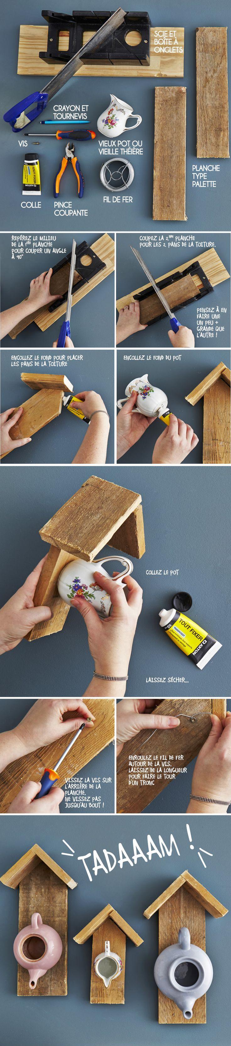 25 best ideas about mangeoire pour oiseaux on pinterest. Black Bedroom Furniture Sets. Home Design Ideas