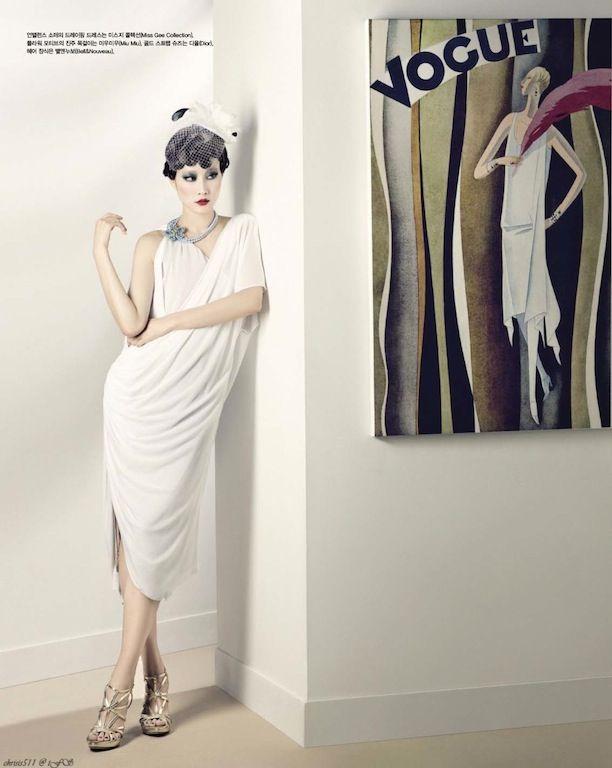 Lee Hyun Yi by Hyea W. Kang for Vogue Korea