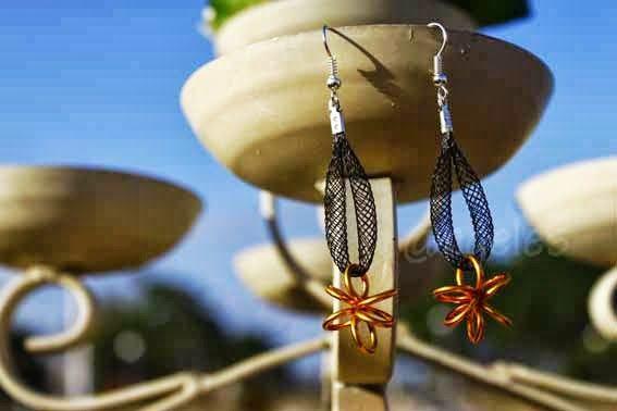 Las creaciones de @ngeles: Pendientes de alambre