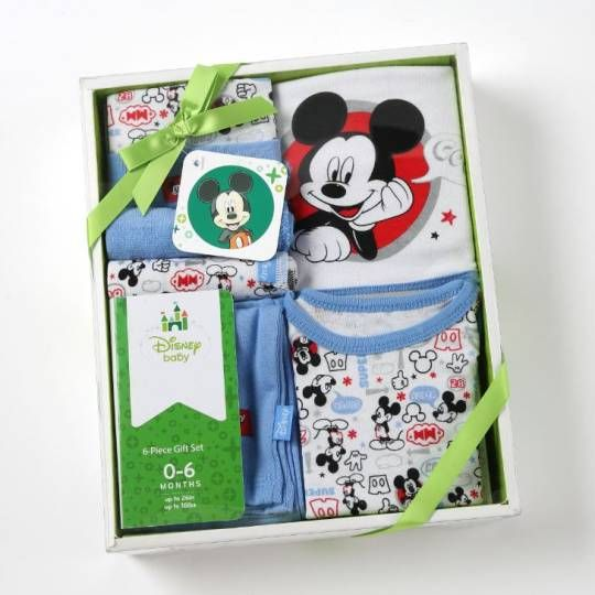 Disney Cuddly™ 6-Piece Gift Set – MICKEY MOUSE