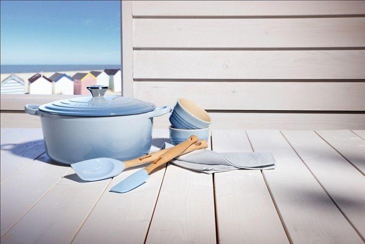 Le Creuset Oval French Oven Coastal Blue 25cm For $257.00 - Everten