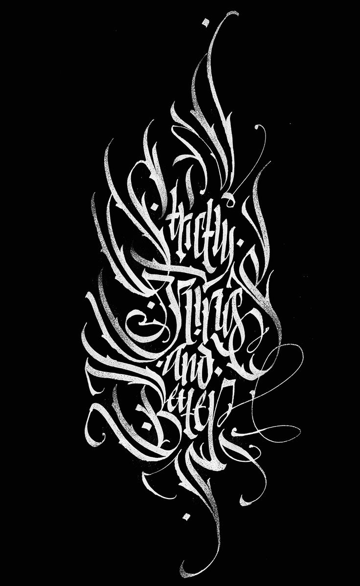 Calligraphy collection: part 3. Best of the best. on Behance