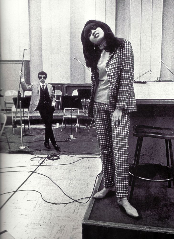 Ronnie Spector and Phil Spector 1970