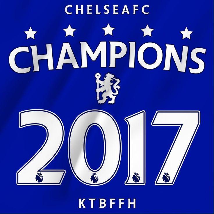 Chelsea FC - 2017 EPL Champions