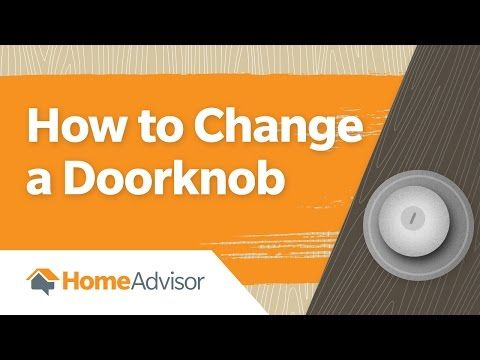 Is your loose doorknob driving you crazy? Watch this video to fix the problem. #doorknob #howto #DIY #video #homemaintenance